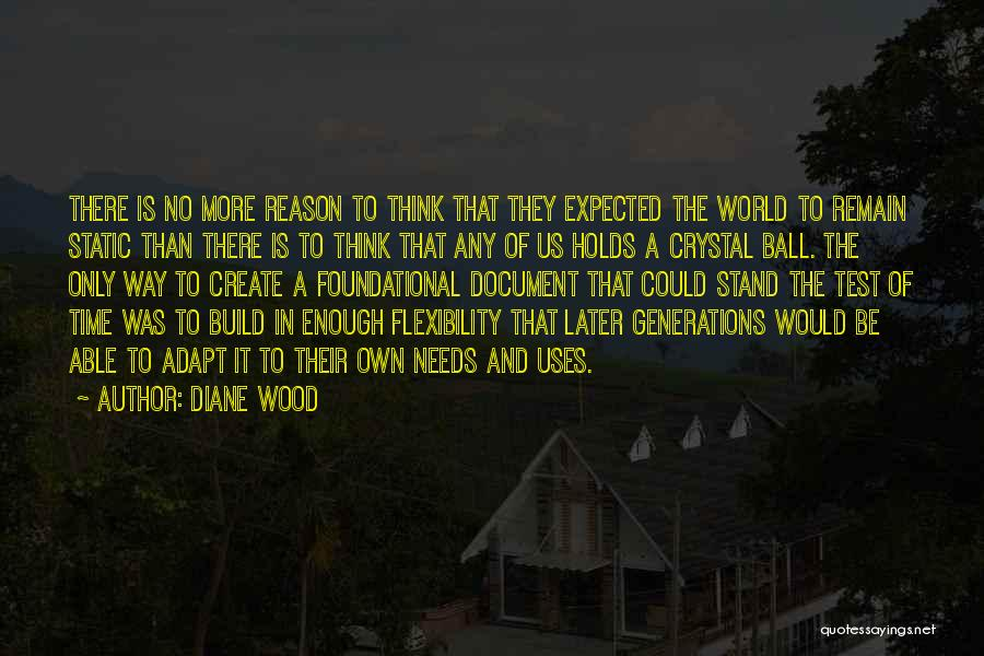 Test Of Time Quotes By Diane Wood