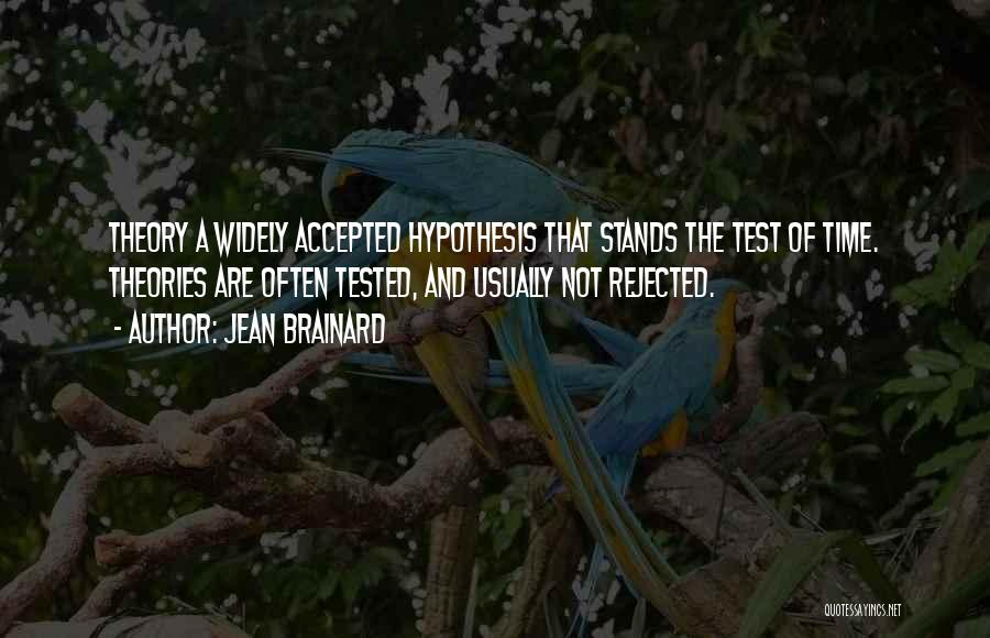 Test Of Time Quotes By Jean Brainard