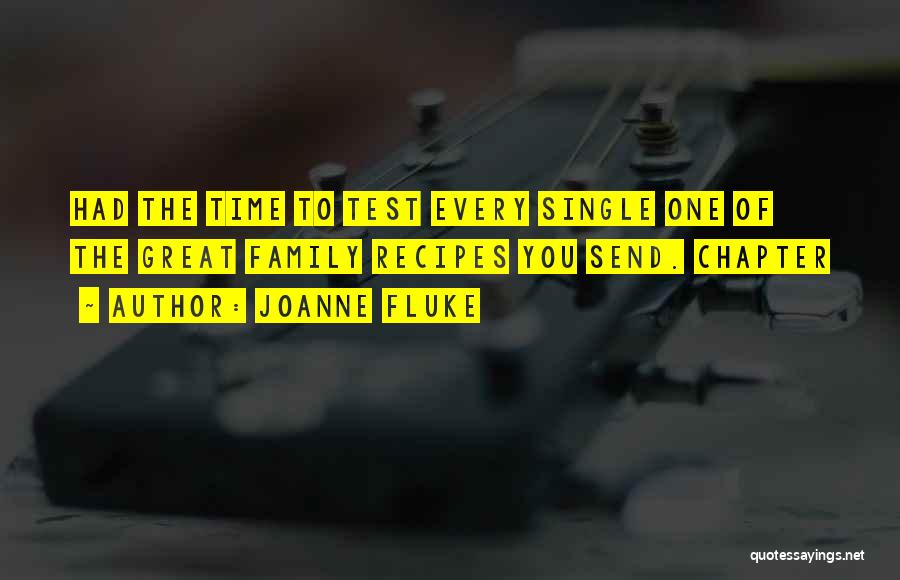 Test Of Time Quotes By Joanne Fluke