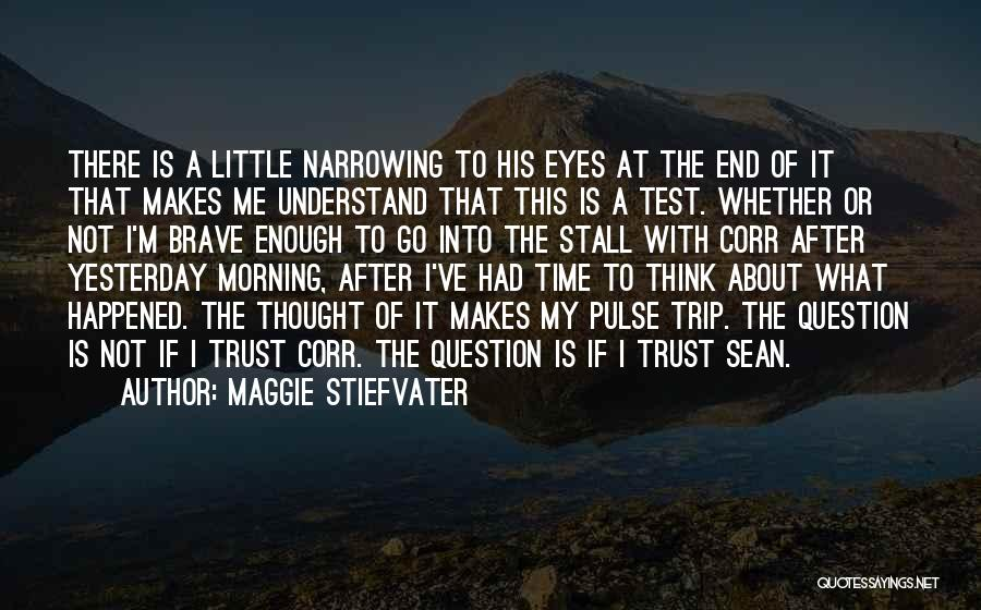 Test Of Time Quotes By Maggie Stiefvater