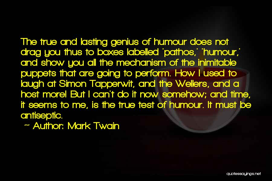 Test Of Time Quotes By Mark Twain