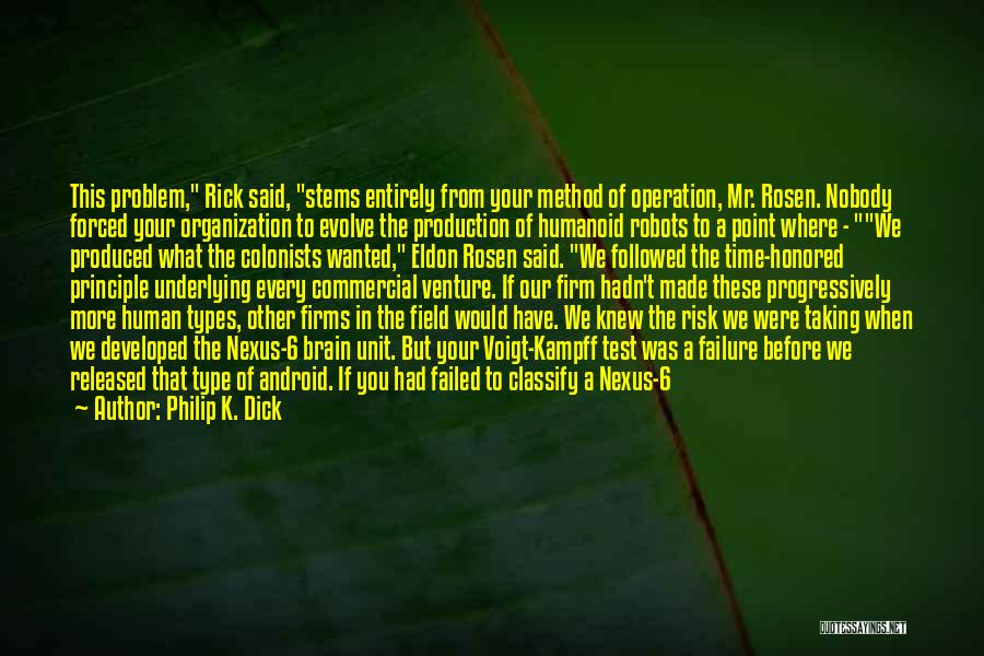 Test Of Time Quotes By Philip K. Dick
