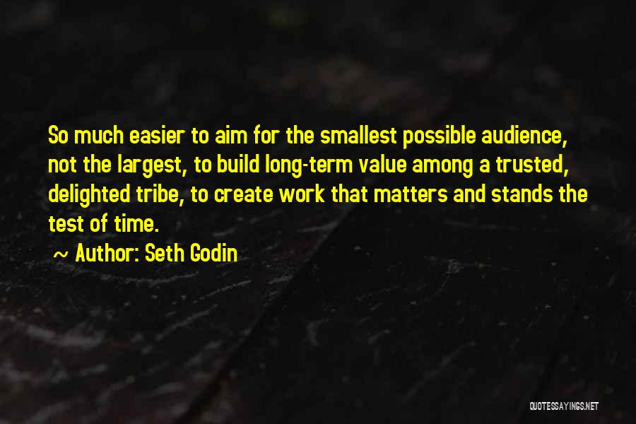 Test Of Time Quotes By Seth Godin