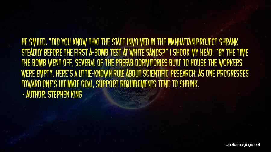 Test Of Time Quotes By Stephen King