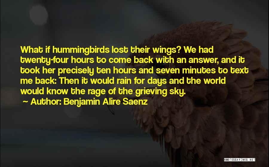 Text Me Quotes By Benjamin Alire Saenz