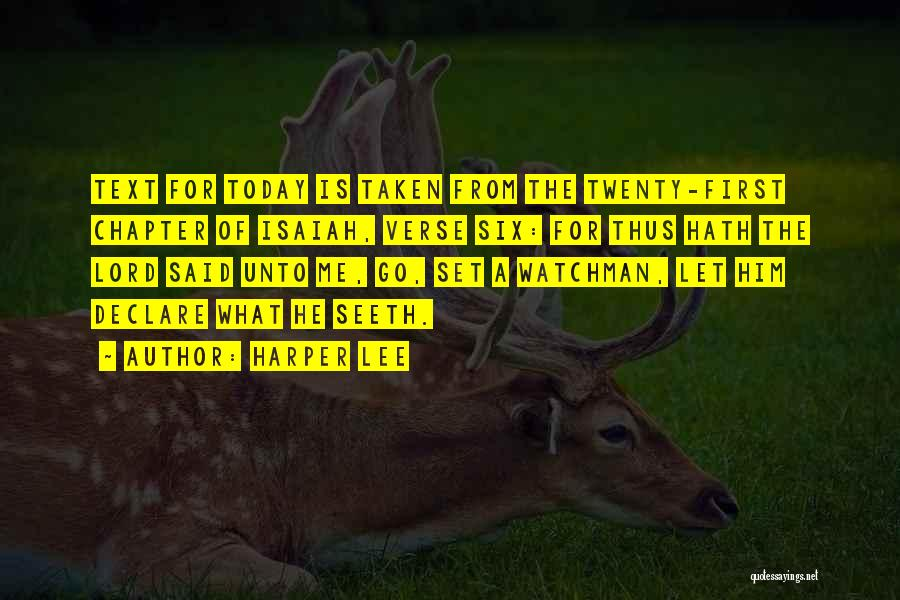 Text Me Quotes By Harper Lee