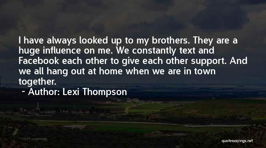 Text Me Quotes By Lexi Thompson