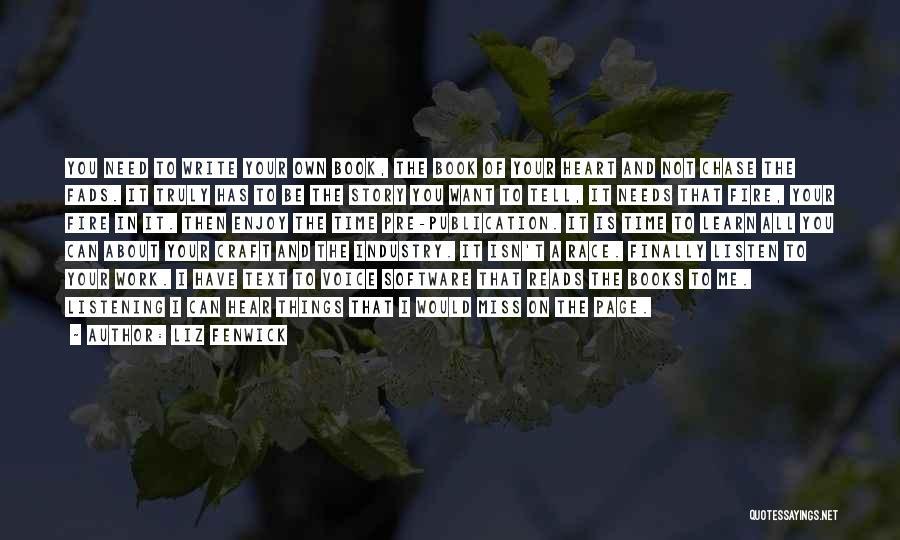 Text Me Quotes By Liz Fenwick