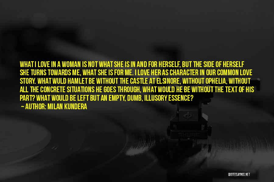 Text Me Quotes By Milan Kundera