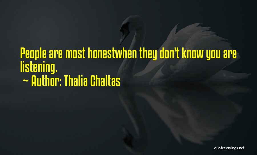 Thalia Chaltas Quotes 2079205