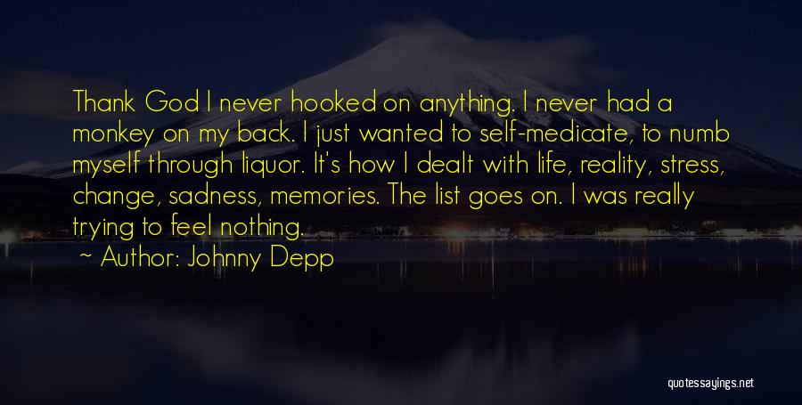 Thank You For All The Memories Quotes By Johnny Depp