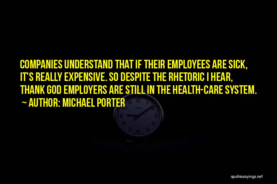 Thank You God For My Health Quotes By Michael Porter