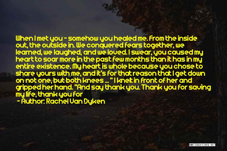 Thank You Is Not Enough Quotes By Rachel Van Dyken