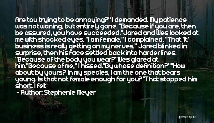 Thank You Is Not Enough Quotes By Stephenie Meyer