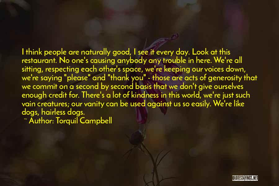 Thank You Is Not Enough Quotes By Torquil Campbell