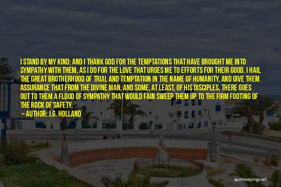 Thank You Sympathy Quotes By J.G. Holland