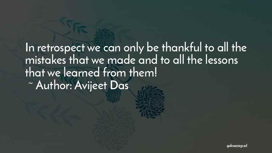 Thankful In Life Quotes By Avijeet Das