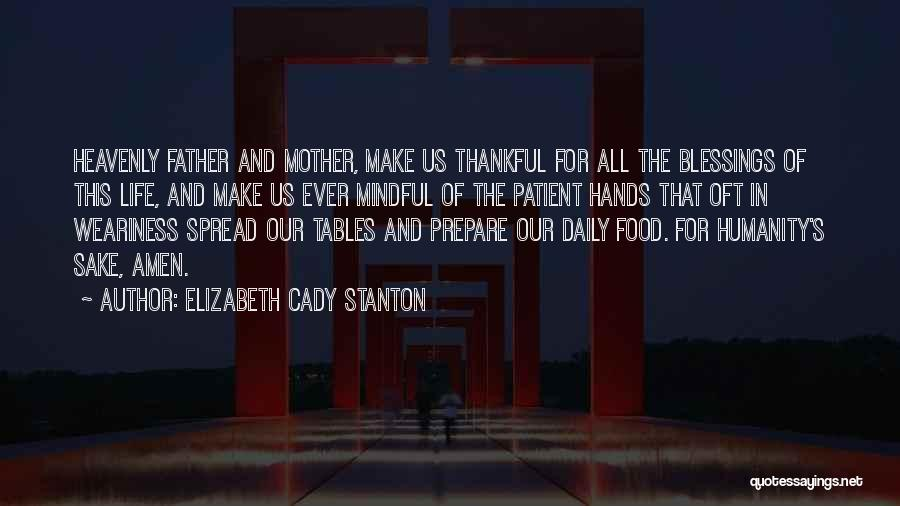 Thankful In Life Quotes By Elizabeth Cady Stanton