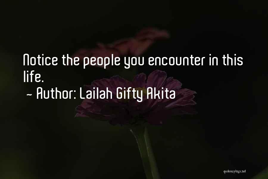 Thankful In Life Quotes By Lailah Gifty Akita