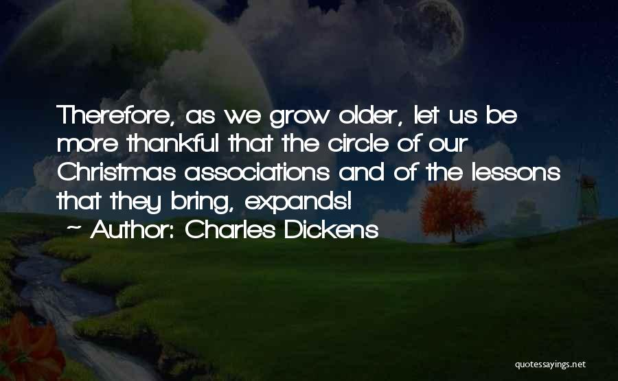 Thankful Quotes By Charles Dickens
