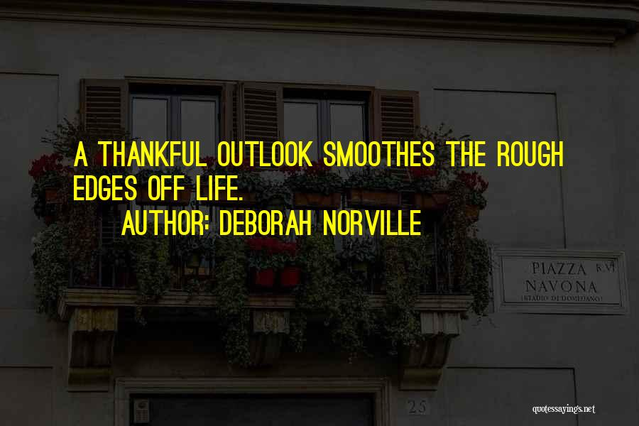 Thankful Quotes By Deborah Norville