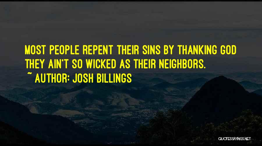 Thankful Quotes By Josh Billings
