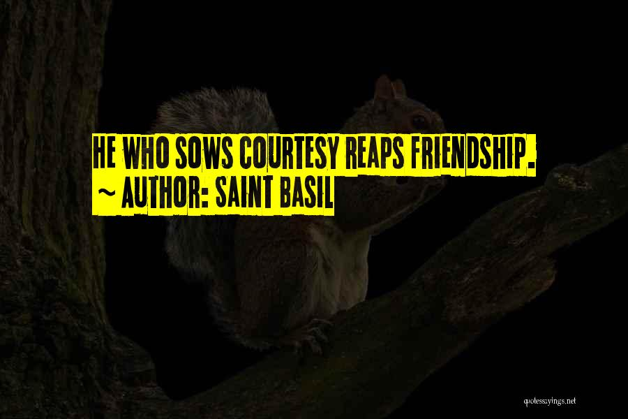 Thankful Quotes By Saint Basil