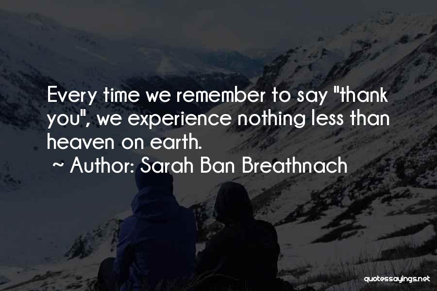 Thankful Quotes By Sarah Ban Breathnach
