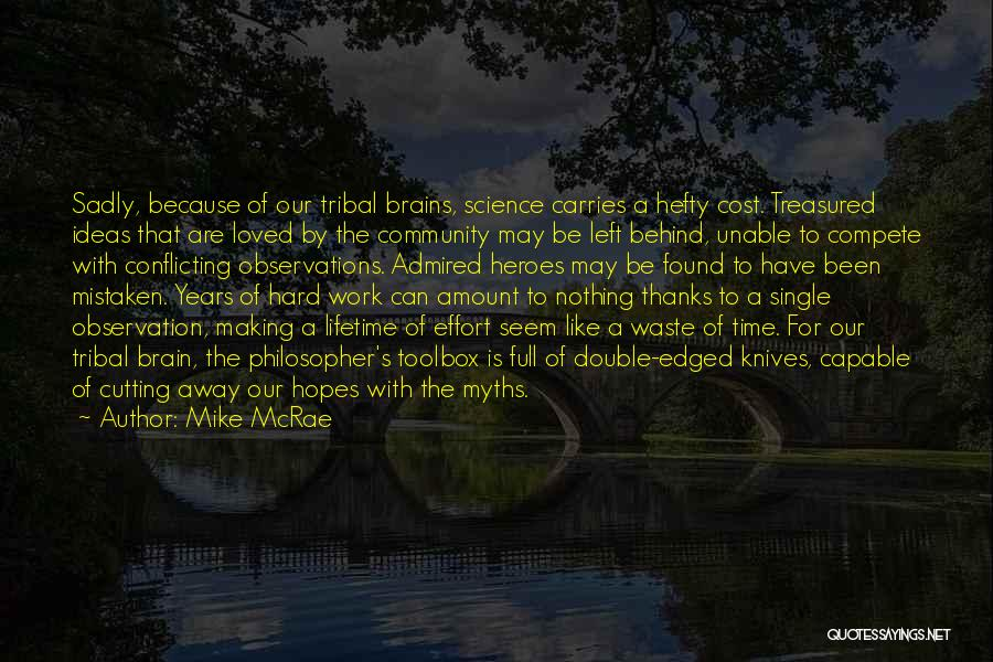 Thanks For The Time And Effort Quotes By Mike McRae