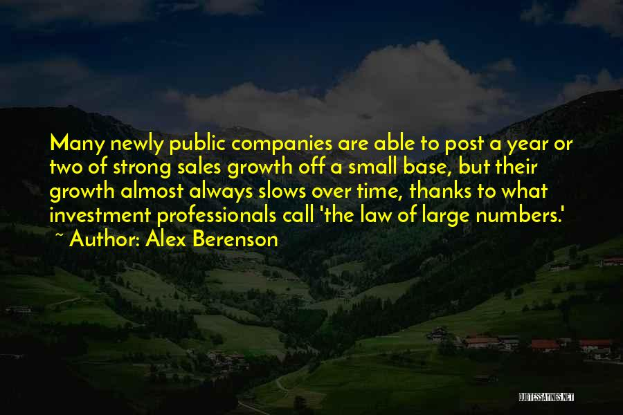 Thanks Quotes By Alex Berenson