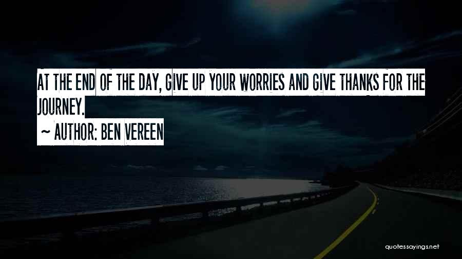 Thanks Quotes By Ben Vereen