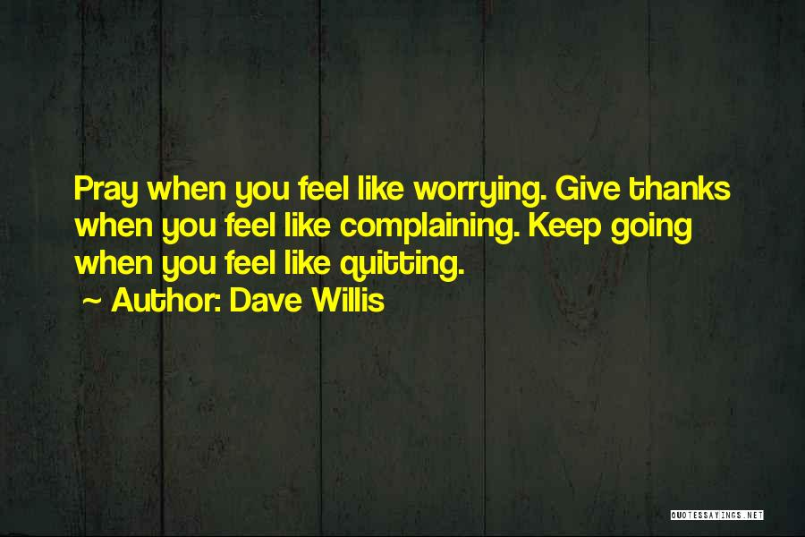 Thanks Quotes By Dave Willis