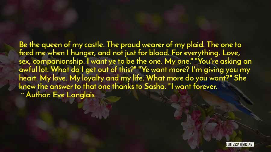 Thanks Quotes By Eve Langlais
