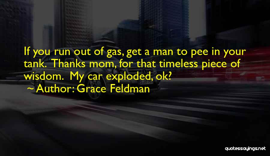 Thanks Quotes By Grace Feldman