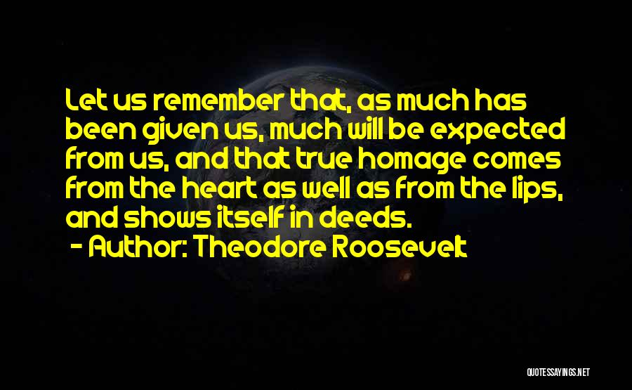 Thanksgiving And Gratitude Quotes By Theodore Roosevelt