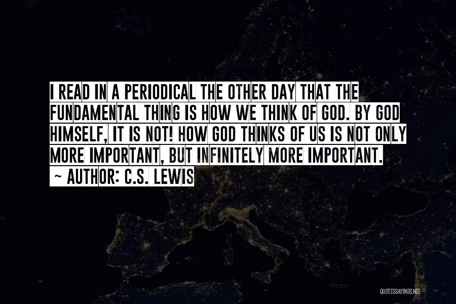 That Day Quotes By C.S. Lewis