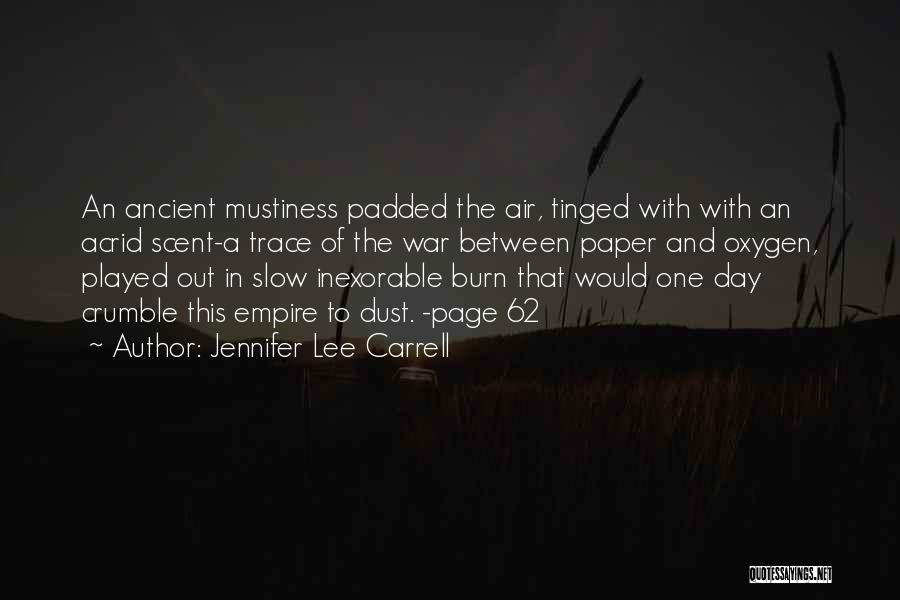 That Day Quotes By Jennifer Lee Carrell
