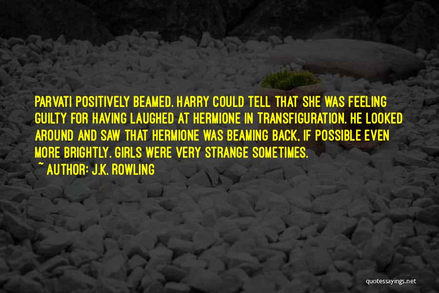 That Funny Feeling Quotes By J.K. Rowling