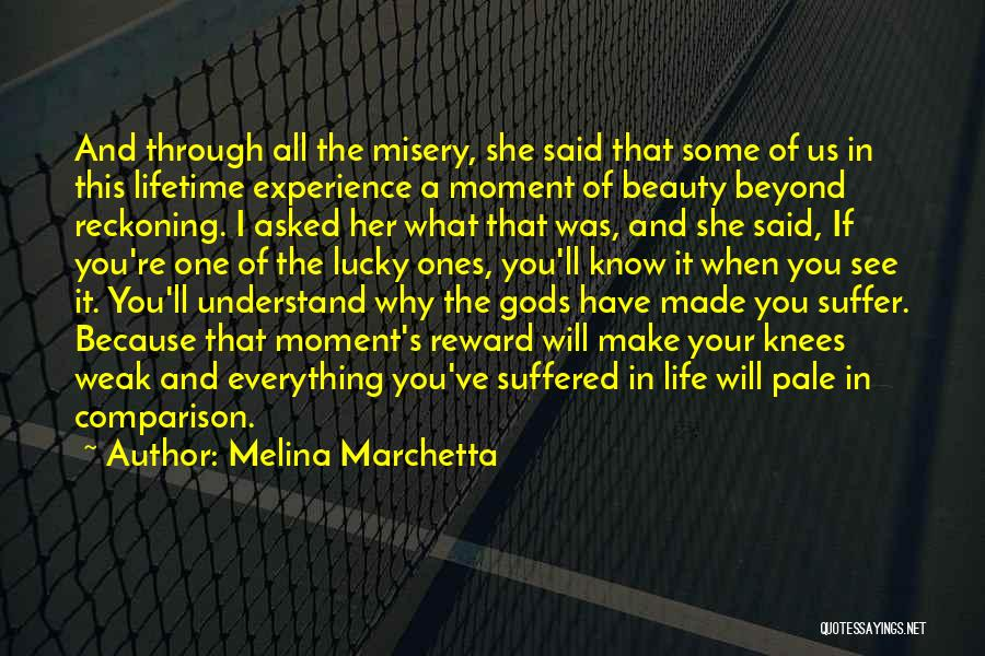 That Moment In Life Quotes By Melina Marchetta