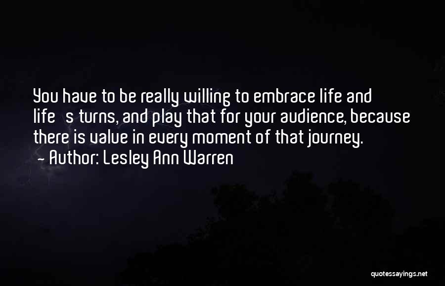 That Moment Quotes By Lesley Ann Warren