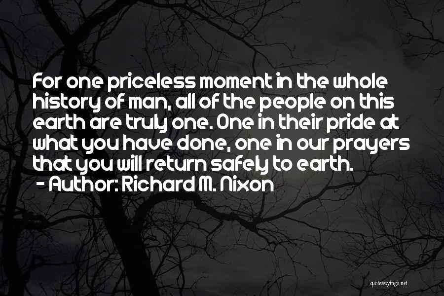 That Moment Quotes By Richard M. Nixon