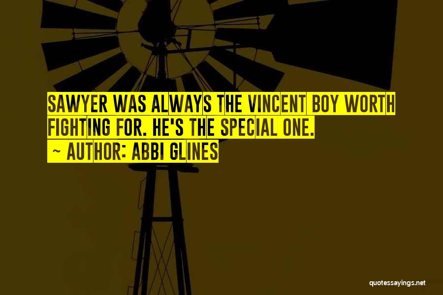 That One Special Boy Quotes By Abbi Glines