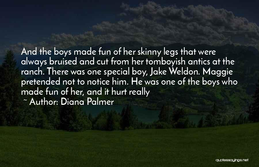 That One Special Boy Quotes By Diana Palmer