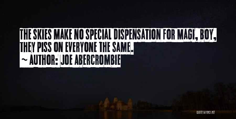 That One Special Boy Quotes By Joe Abercrombie