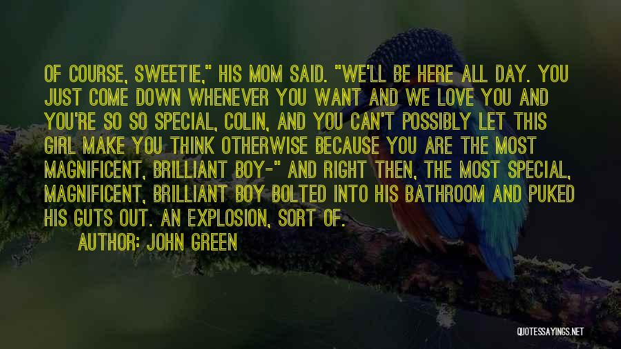 That One Special Boy Quotes By John Green