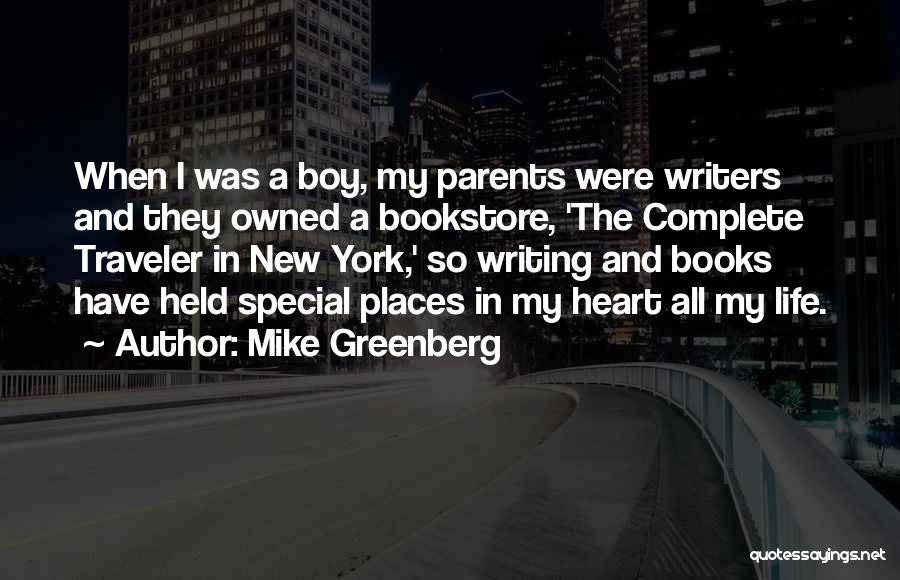 That One Special Boy Quotes By Mike Greenberg