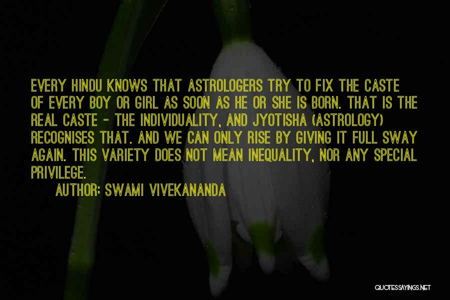 That One Special Boy Quotes By Swami Vivekananda
