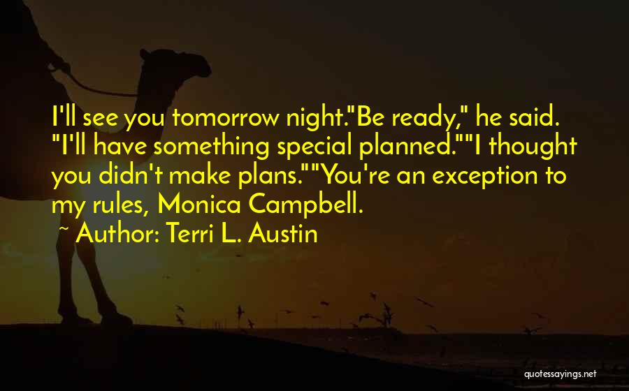 That One Special Boy Quotes By Terri L. Austin