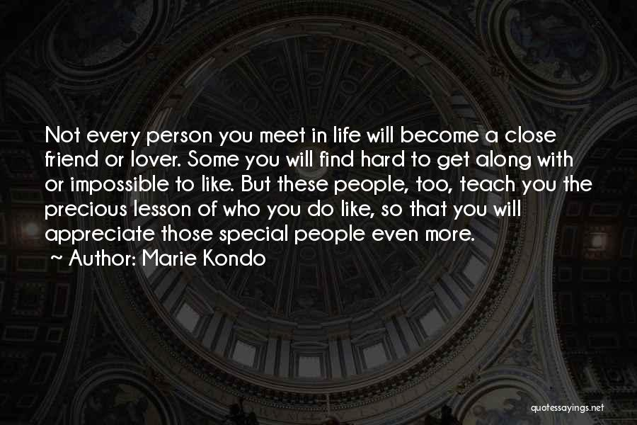 That Special Friend Quotes By Marie Kondo