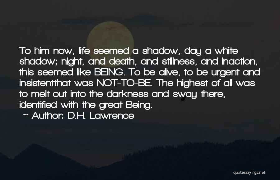 That Was A Great Day Quotes By D.H. Lawrence
